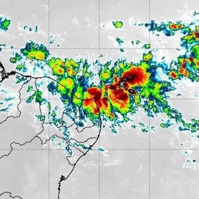 Chuvas devem continuar até sábado (27) no RN; instituto lança alerta para o estado