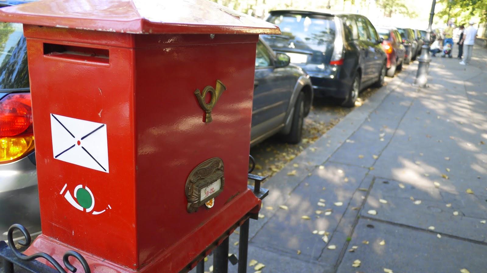 Budapest post box