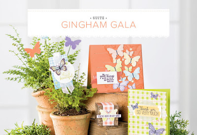 If you are a butterfly lover you are going to get so excited when you see the Gingham Gala Product Suite - see it here - http://bit.ly/GinghamGalaSuite