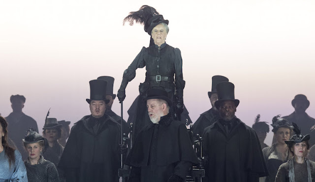 Iain Bell: Jack the Ripper - The Women of Whitehall - Josephine Barstow - English National Opera (Photo Alastair Muir)