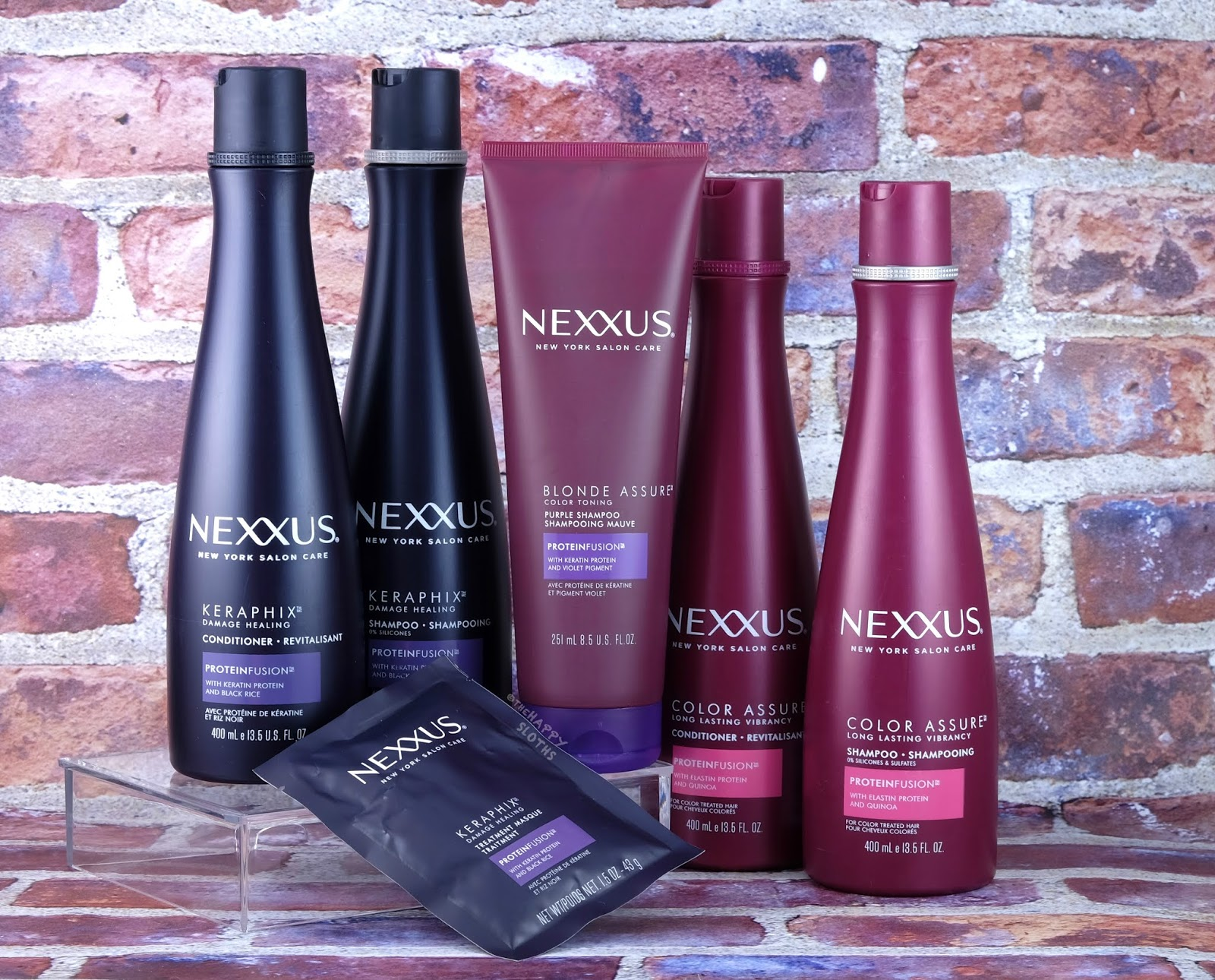Nexxus | Keraphix Damage Healing and Color Assure Collection