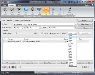 برنامج تسجيل الصوت من المايك برنامج axara voice recorder اخر اصدار 2016