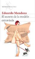 Portada de El secreto de la modelo extraviada de Eduardo Mendoza