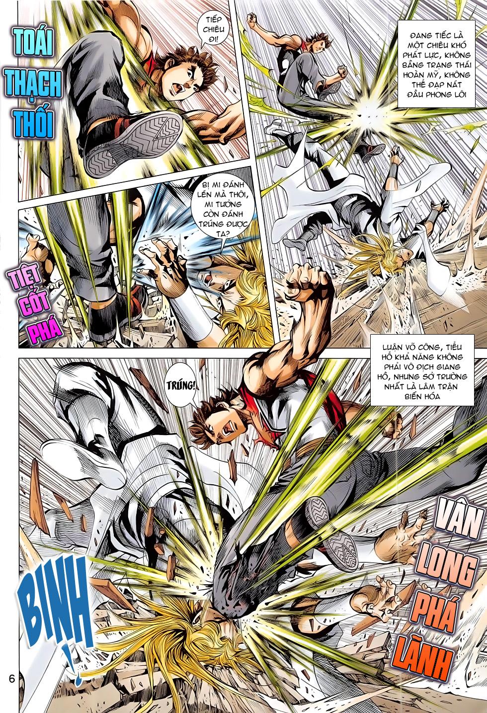 Đông Phương Chân Long chap 65 - Trang 6