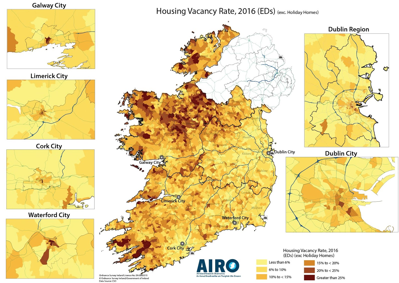 Housing Vacancy Rate in Ireland