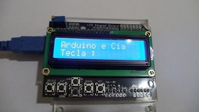 shield lcd 16x2 Arduino