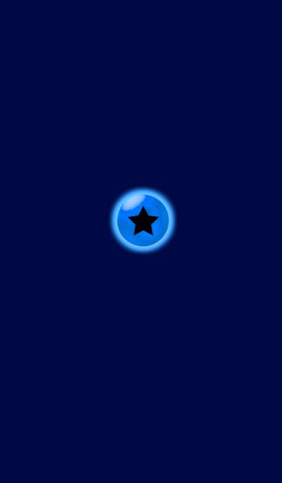 Light Simple Blue Star 3