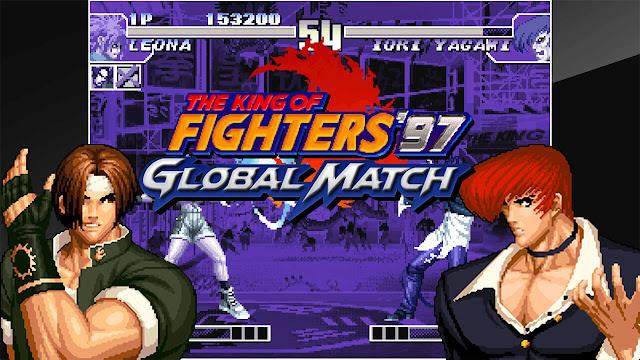 رسميا تحديد موعد إطلاق لعبة The King of Fighters '97 Global Match