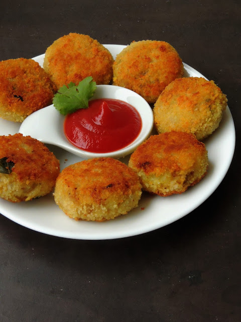 Scrambled Egg Cutlet, Mutta Cutlet
