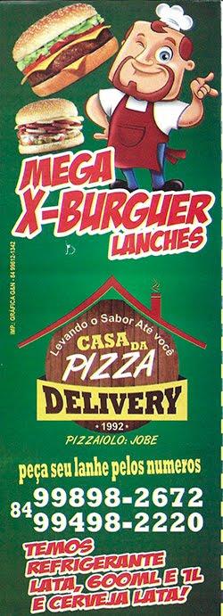 Mega X-Burguer da Casa