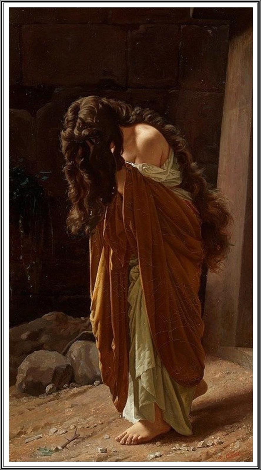Le Prince Lointain Antonio Ciseri 1821 1891 Marie Madeleine 1870