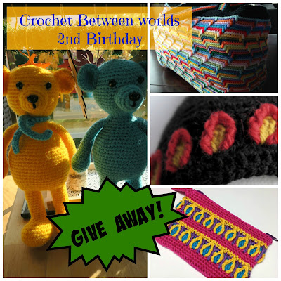Happy 2nd Birthday, Crochet Between Worlds!