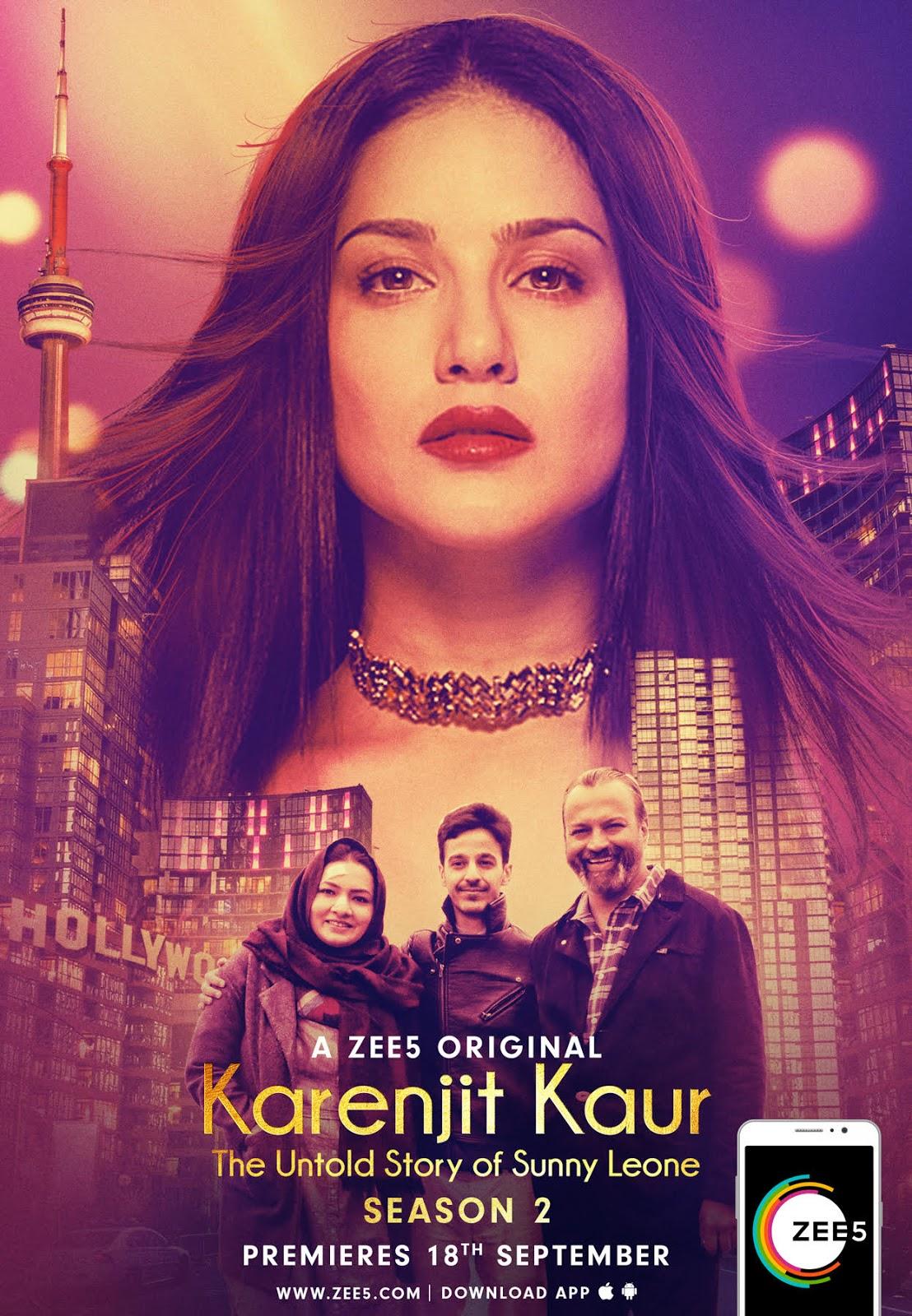 Karenjit Kaur: The Untold Story Of Sunny Leone' Season 2 To ...