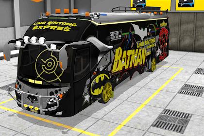 Livery BUSSID Arjuna XHD Batman