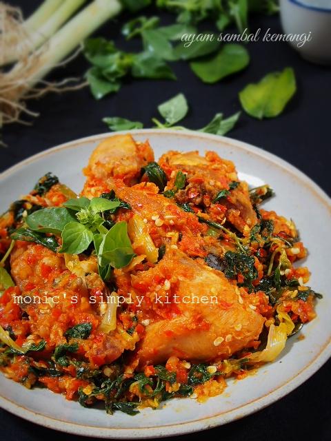 Resep Ayam Kemangi Pedas : resep, kemangi, pedas, Sambal, Kemangi, Monic's, Simply, Kitchen