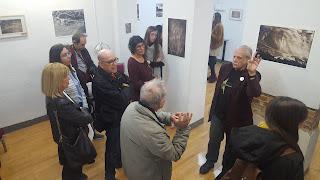 Gustavo García Roig en la visita guiada.