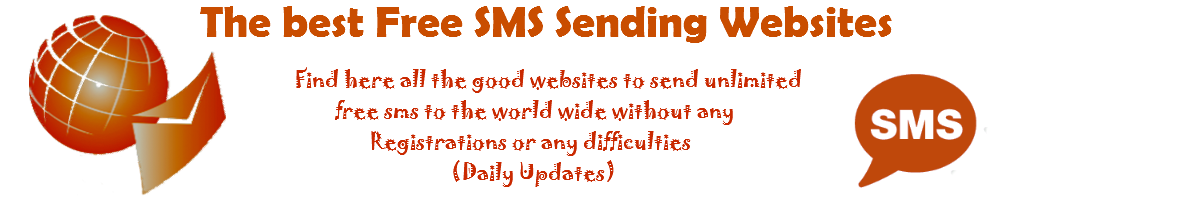 Free sms website | The best websites to send unlimited sms - Send