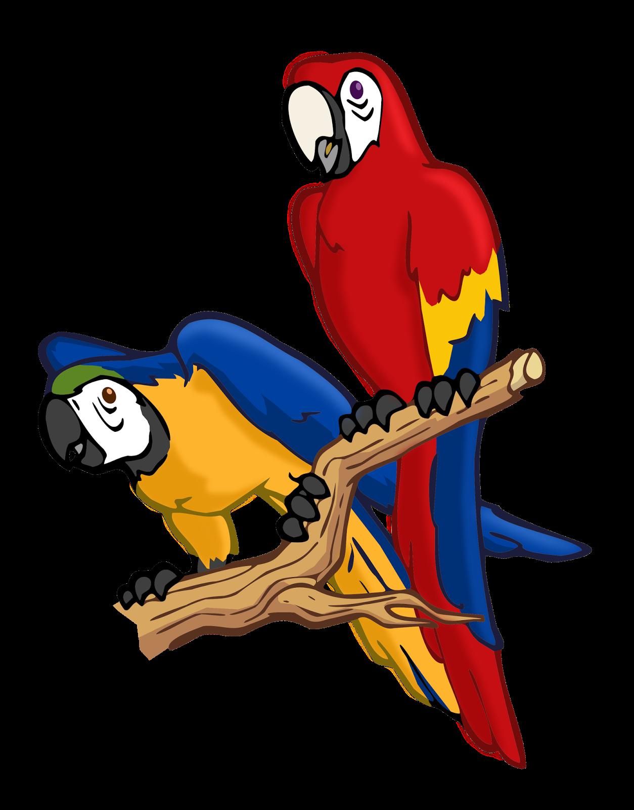 Animasi Kartun Lovebird Gambar Kartun
