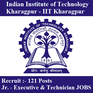 Indian Institute of Technology Kharagpur, IIT Kharagpur, West Bengal, WB, 12th, Executive, Technician, freejobalert, Sarkari Naukri, Latest Jobs, iit kharagpur logo