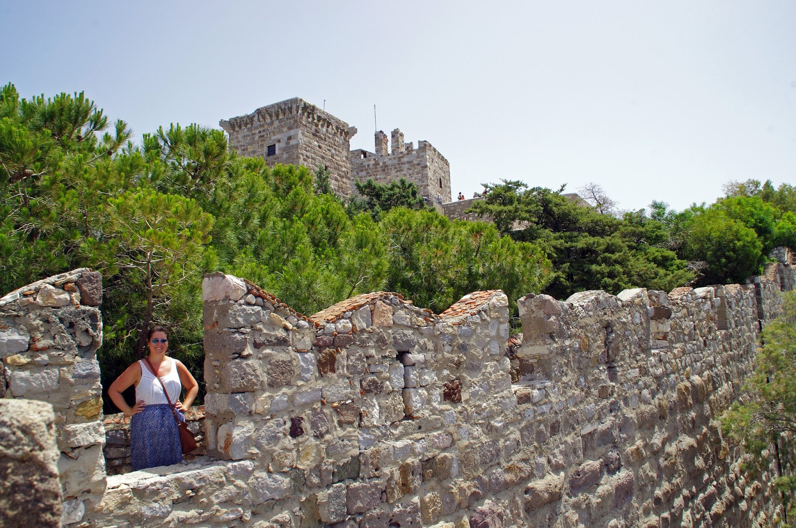 Bodrum Castle Walls