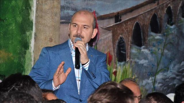 Süleyman Soylu İçişleri Bakanı Türkiye