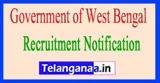 Government of West Bengal-Birbhum District Recruitment Notification 2017