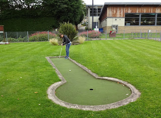 Wellholme Park Crazy Golf course in Brighouse