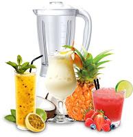 cocktails frutas naturais