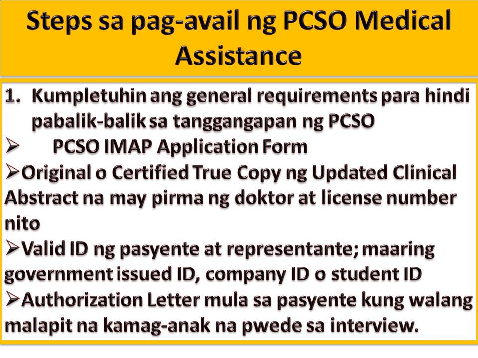 Heres how to get free medical assistance from philippine charity social welfare and development dswd dont you know that you can also avail of medical assistance from philippines charity sweepstakes office pcso spiritdancerdesigns Images