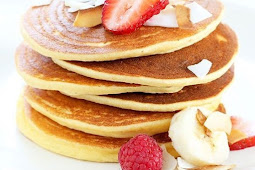 Easy Fluffy Coconut Flour Pancakes