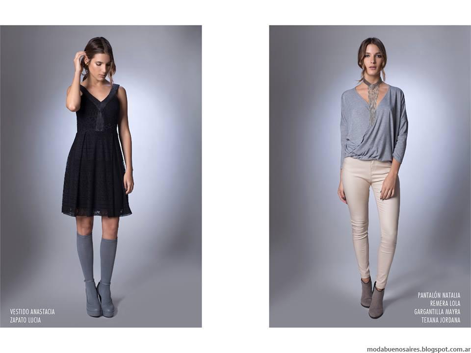 1cd966f6d La Cofradía otoño invierno 2016. Moda invierno 2016 vestidos y pantalones.