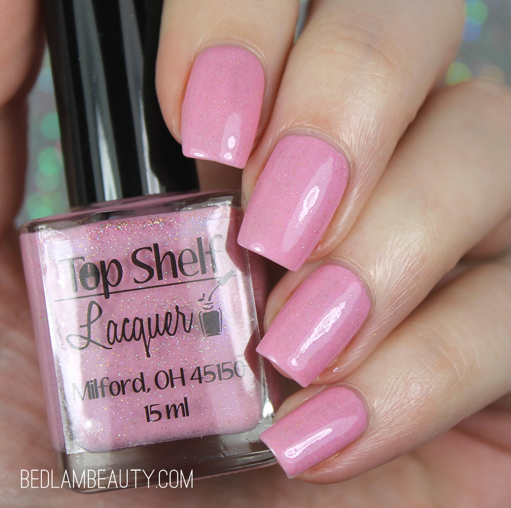 Bedlam Beauty: Top Shelf Lacquer Drinking Games | Spring Pastels