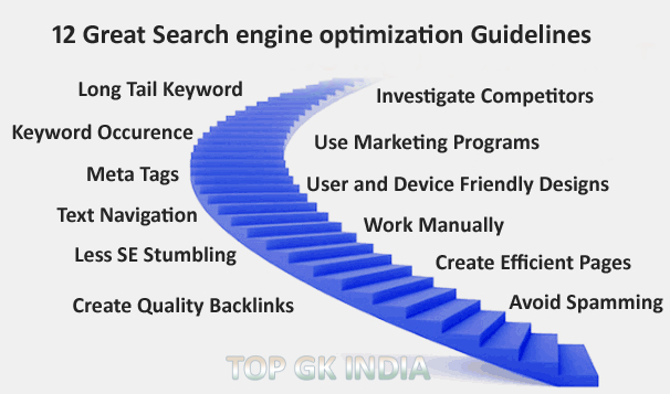 12 Great Search engine optimization Guidelines