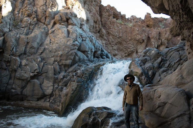 trekking de guatin cachoeira deserto do atacama