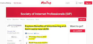 SIP's meetup: Explore Benefits of Volunteering and Learn Some New Skills
