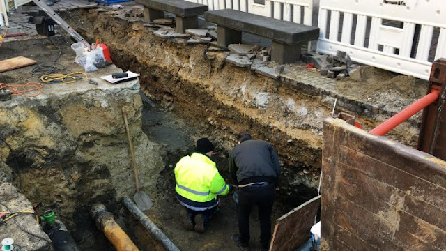 Roman road discovered in German city of Aachen