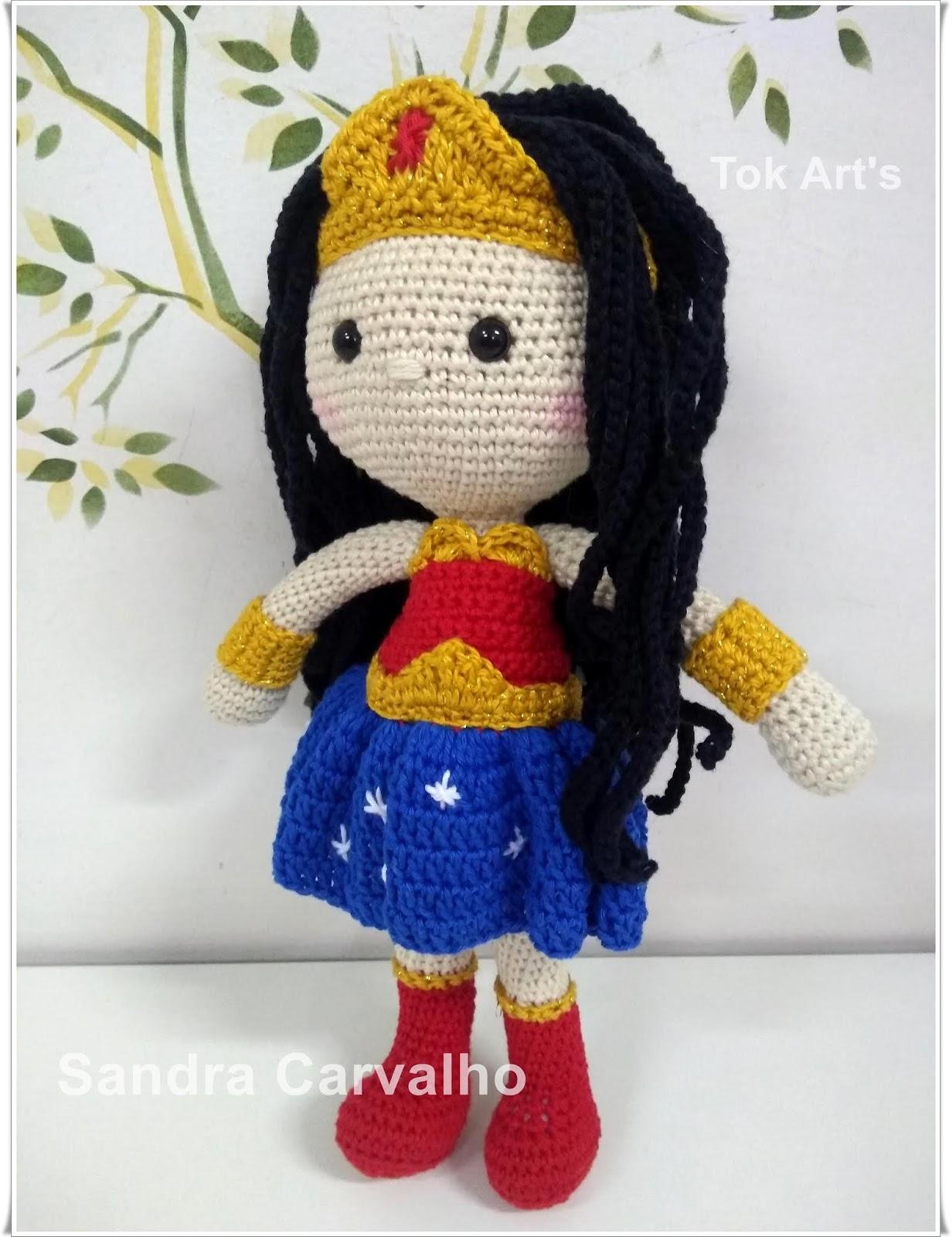 Boneca Dedé amigurumi no Elo7 | Crochetados por Angela Witt (B7D514) | 1600x1232
