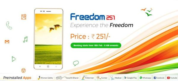 Mungkin sesudah membaca judul di atas anda menganggap bahwa info ini ialah info HOAX Freedom 251, Smartphone Android 3G dengan Harga di Bawah 50 ribu Rupiah