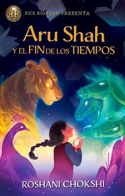 LIBRO - Aru Shah y el fin de los tiempos Roshani Chokshi  (Hidra - 21 Mayo 2018)   Literatura Juvenil - Fantasía - Novela  COMPRAR ESTE LIBRO EN AMAZON ESPAÑA