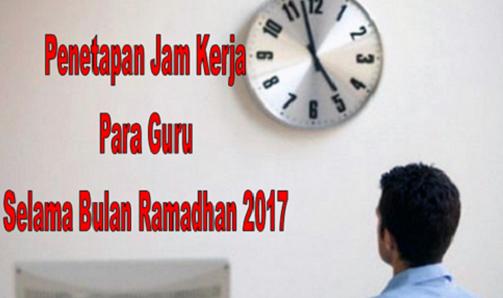 INFO Guru Guru Libur di Bulan Ramadhan 2017 Berikut Jadwal Ketetapanya