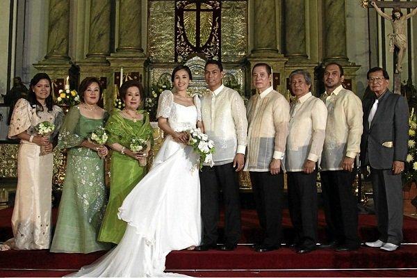 Principal Wedding Sponsor Gowns: Love For Keeps: Our Journey Together: Principal Sponsors