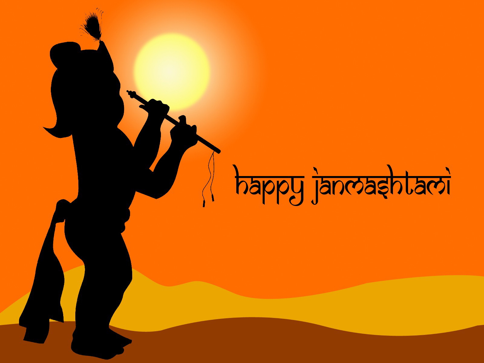 Letest Happy Krishna Janmashtami Full HD Wallpapers ou can