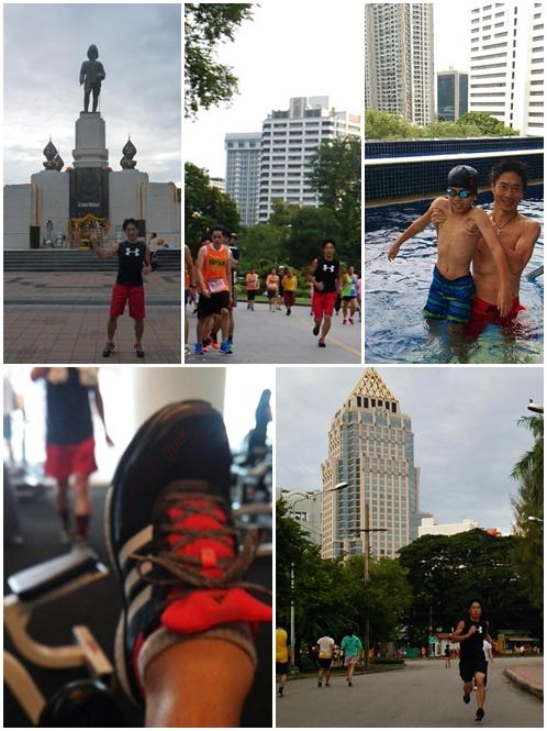 バリマラソン2016に向けて☆タイ・バンコク市内でのハッピーなトレーニング