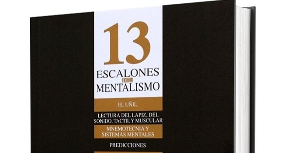 13 escalones del mentalismo de corinda
