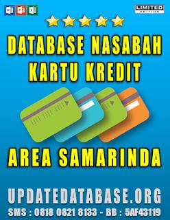Jual Database Nasabah Kartu Kredit Samarinda