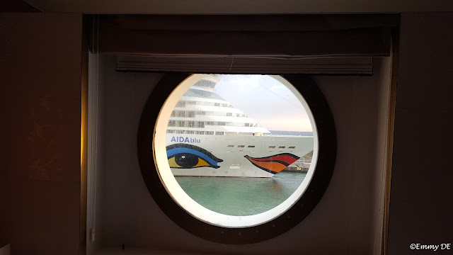 snapshot from my cabin in rome ~ #aida #costa neoRomantica by ©Emmy DE