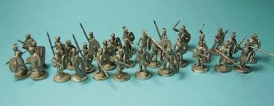 10mm Germanic Tribesmen from Van Dyck Models