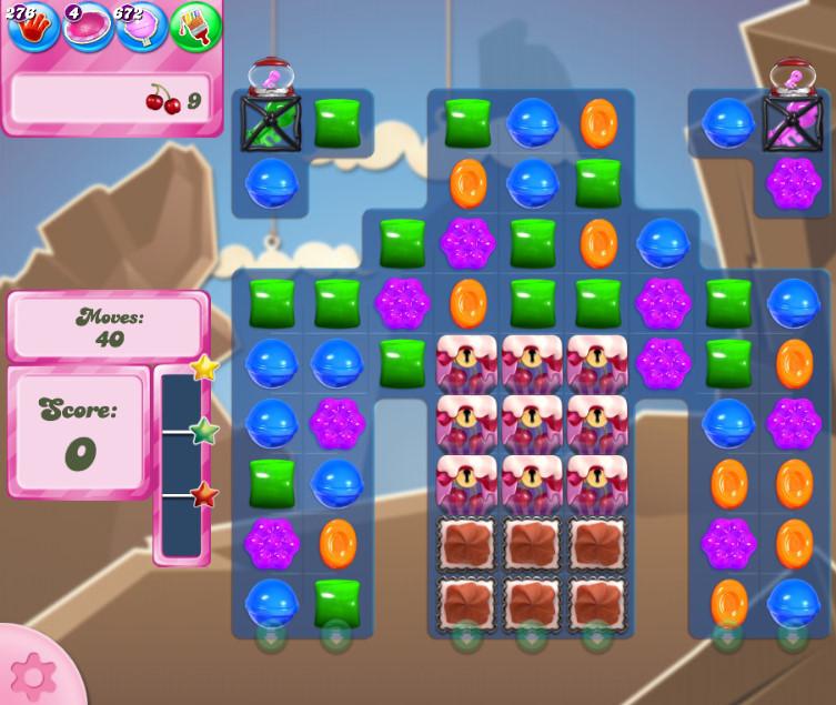 Candy Crush Saga level 2714