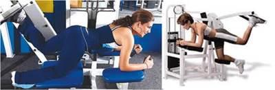 La extensión de cadera es un ejercicio que permite trabajar principalmente los músculos de la cola