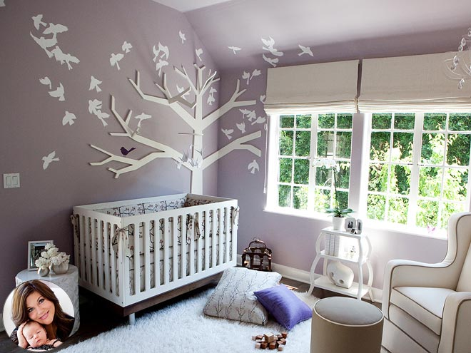 Bluebuggy A Baby Blog More Celebrity Baby Nurseries